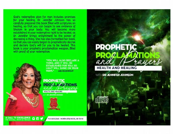 Prophetic Proclamations and Prayers on Health and Healing Book